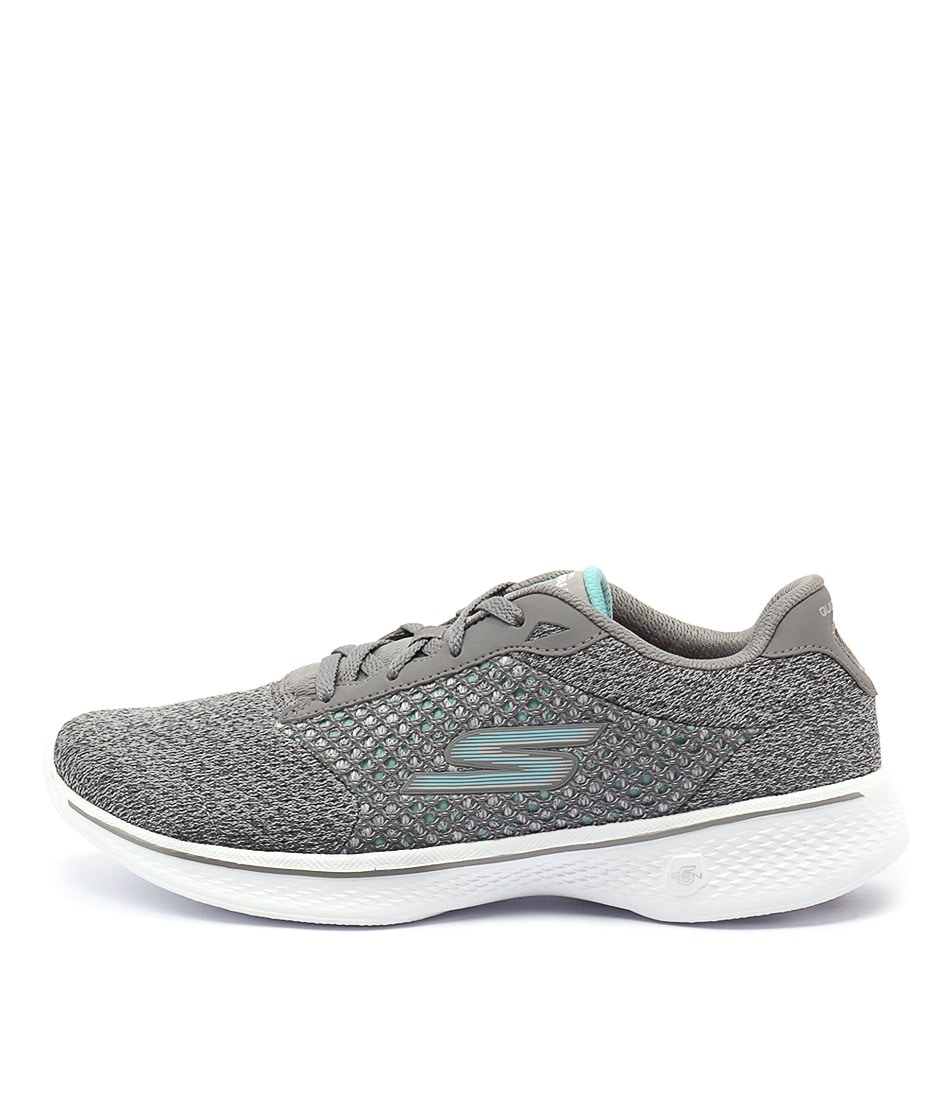 buy Skechers 14146 Go Walk 4 Exceed Grey Sneakers shop Skechers Sneakers online