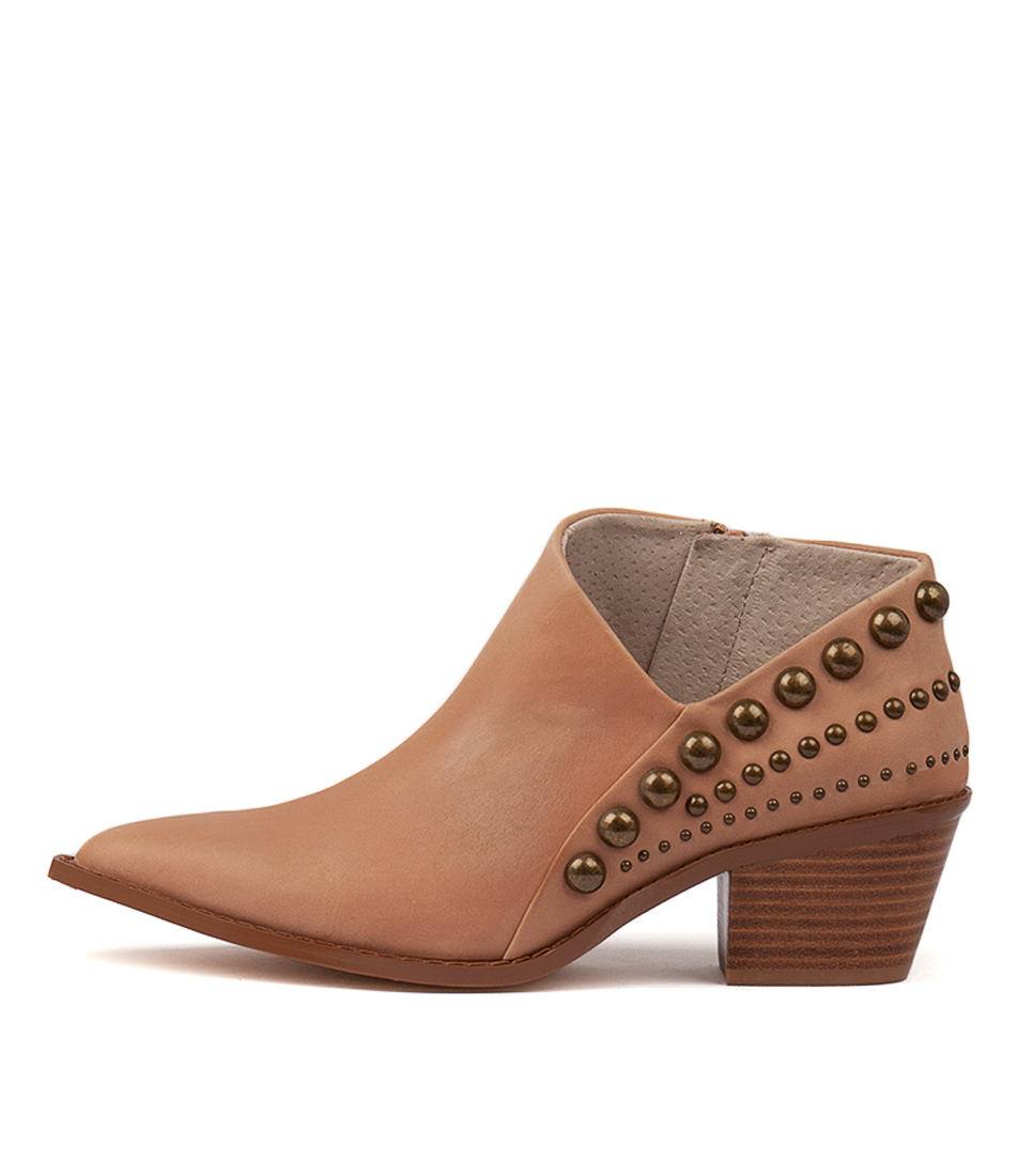Skin Avila Hazelnut Ankle Boots