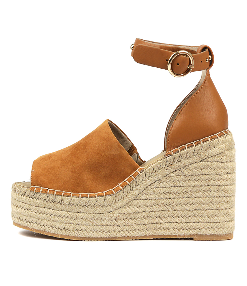 Buy Skin Astrid Sn Tan Heeled Sandals online with free shipping