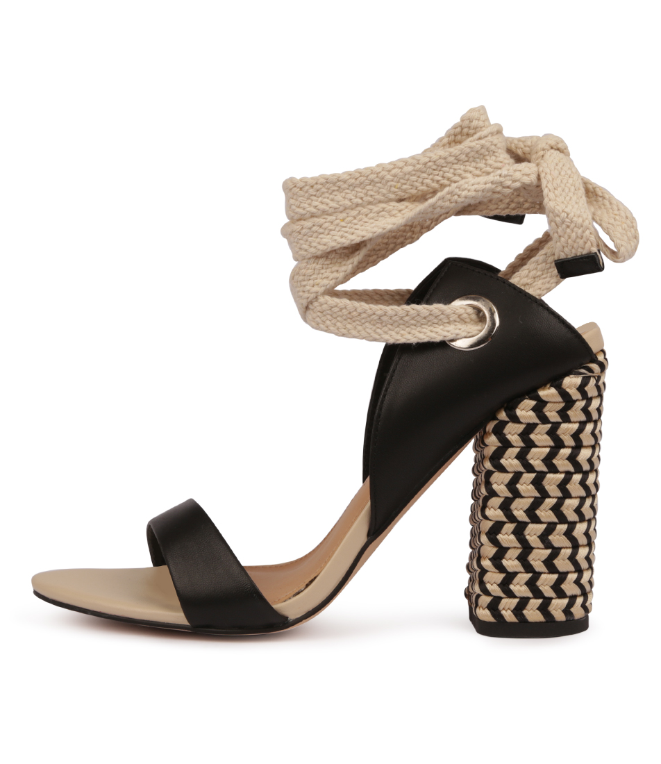Buy Skin Arcadia Black Sandals Flat Sandals online with free shipping