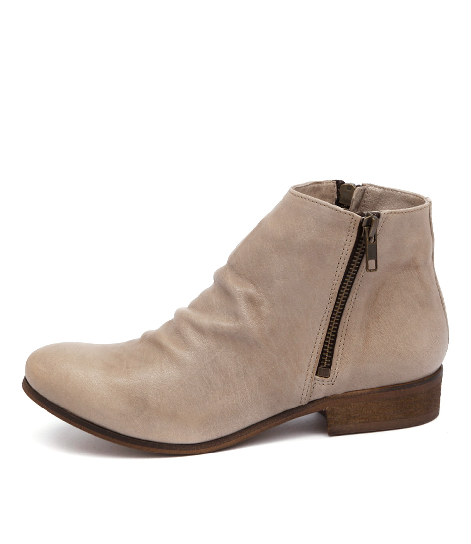 Sofia Cruz Narelle 406 Beige Ankle Boots