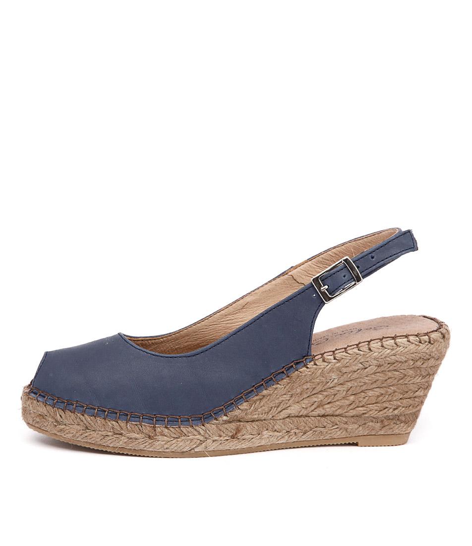 Sofia Cruz Ana 11 Sc China (Dark Blue) Heeled Sandals