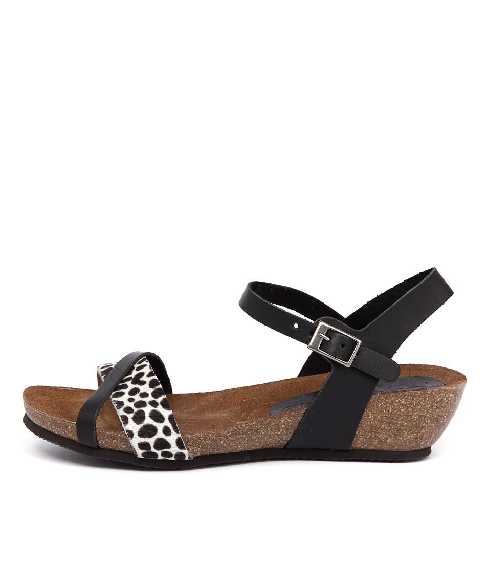 Sofia Cruz Simona 15 833 Negro Leopardo Sandals buy Sandals online