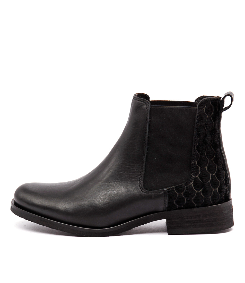 Sofia Cruz Packer Sc Black Casual Ankle Boots