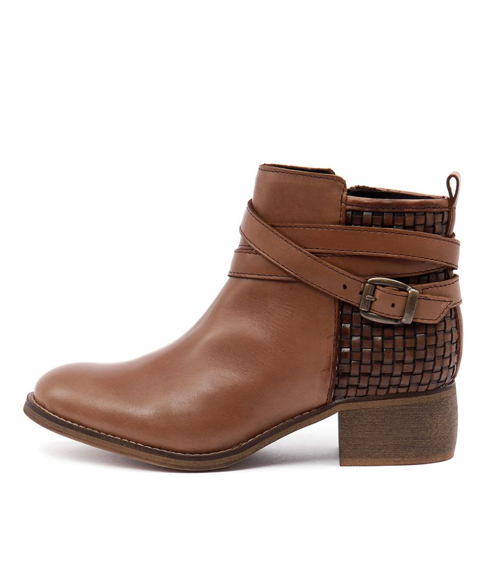 Sofia Cruz Picolo Sc Cuoio Casual Ankle Boots