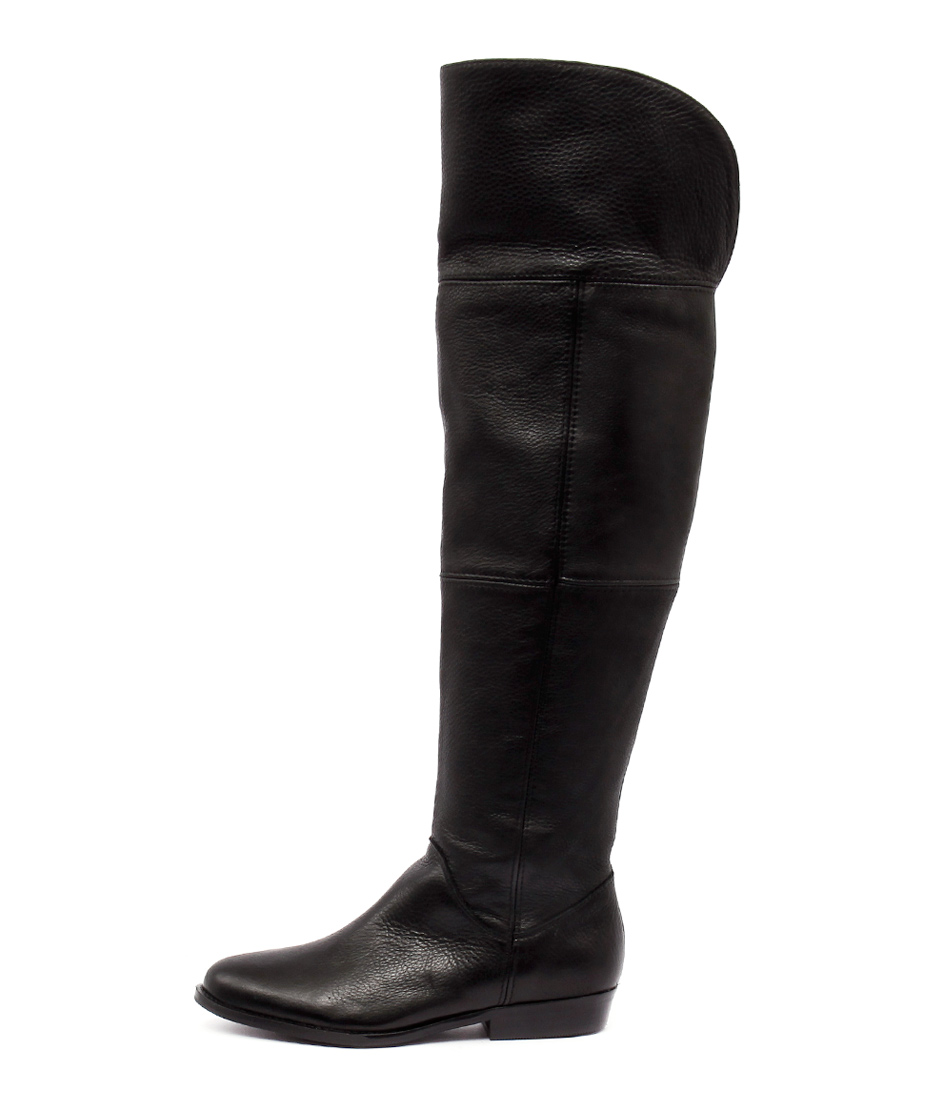 Sofia Cruz Pause Black Long Boots