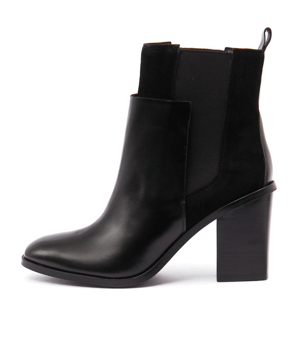 Sofia Cruz Toni Sc Black Ankle Boots