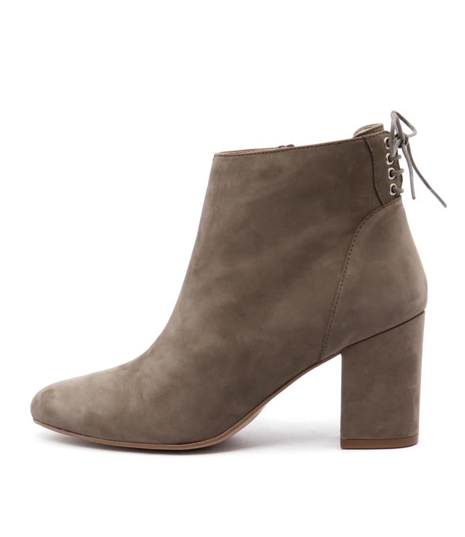 Sofia Cruz Tully Taupe Casual Ankle Boots