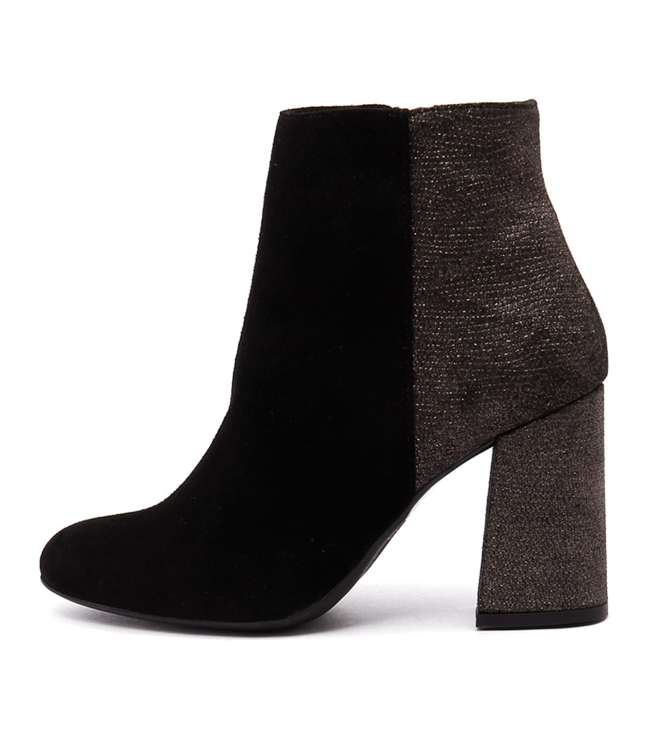 Sofia Cruz Taxi Sc Black Casual Ankle Boots