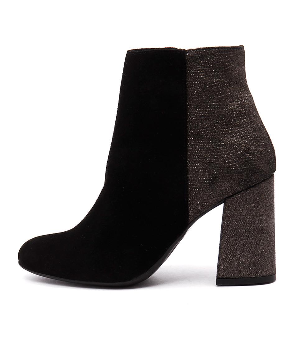 Sofia Cruz Taxi Sc Black Ankle Boots