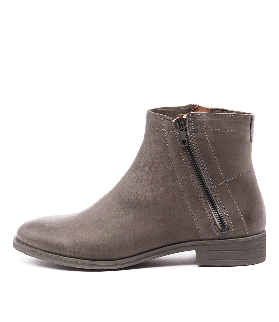 Sofia Cruz Ollie Sc Grey Casual Ankle Boots