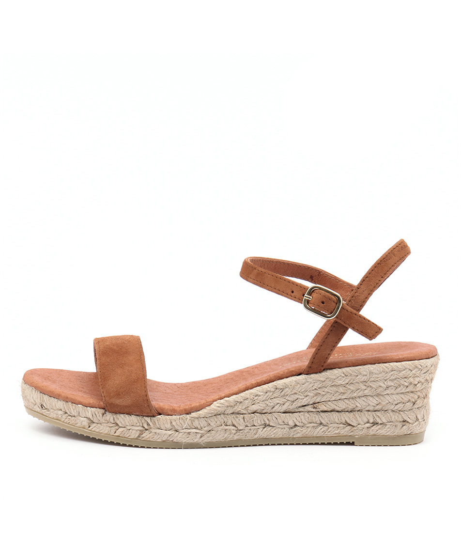Sofia Cruz Moli Sc Cuero (Tan) Heeled Sandals
