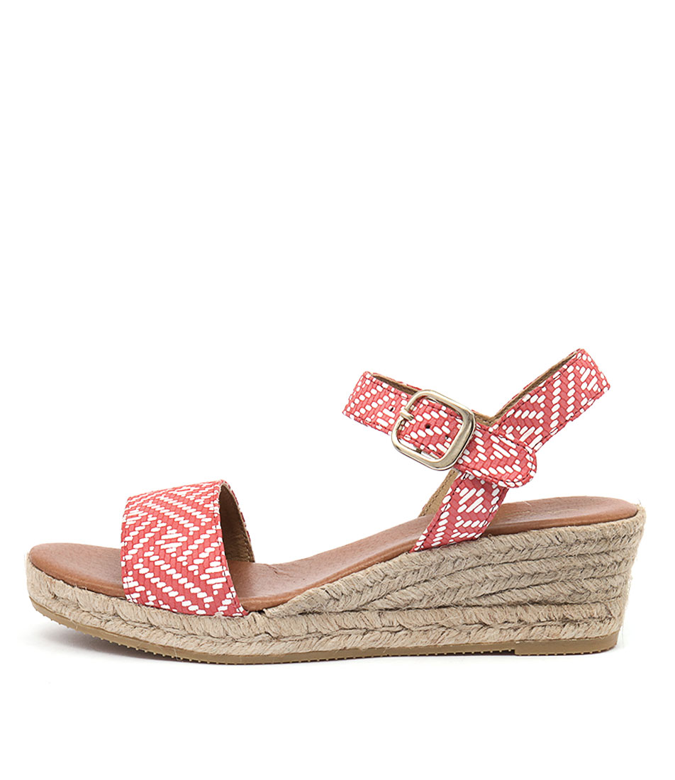 Sofia Cruz Ilsa Sc Rojo (Red) Heeled Sandals