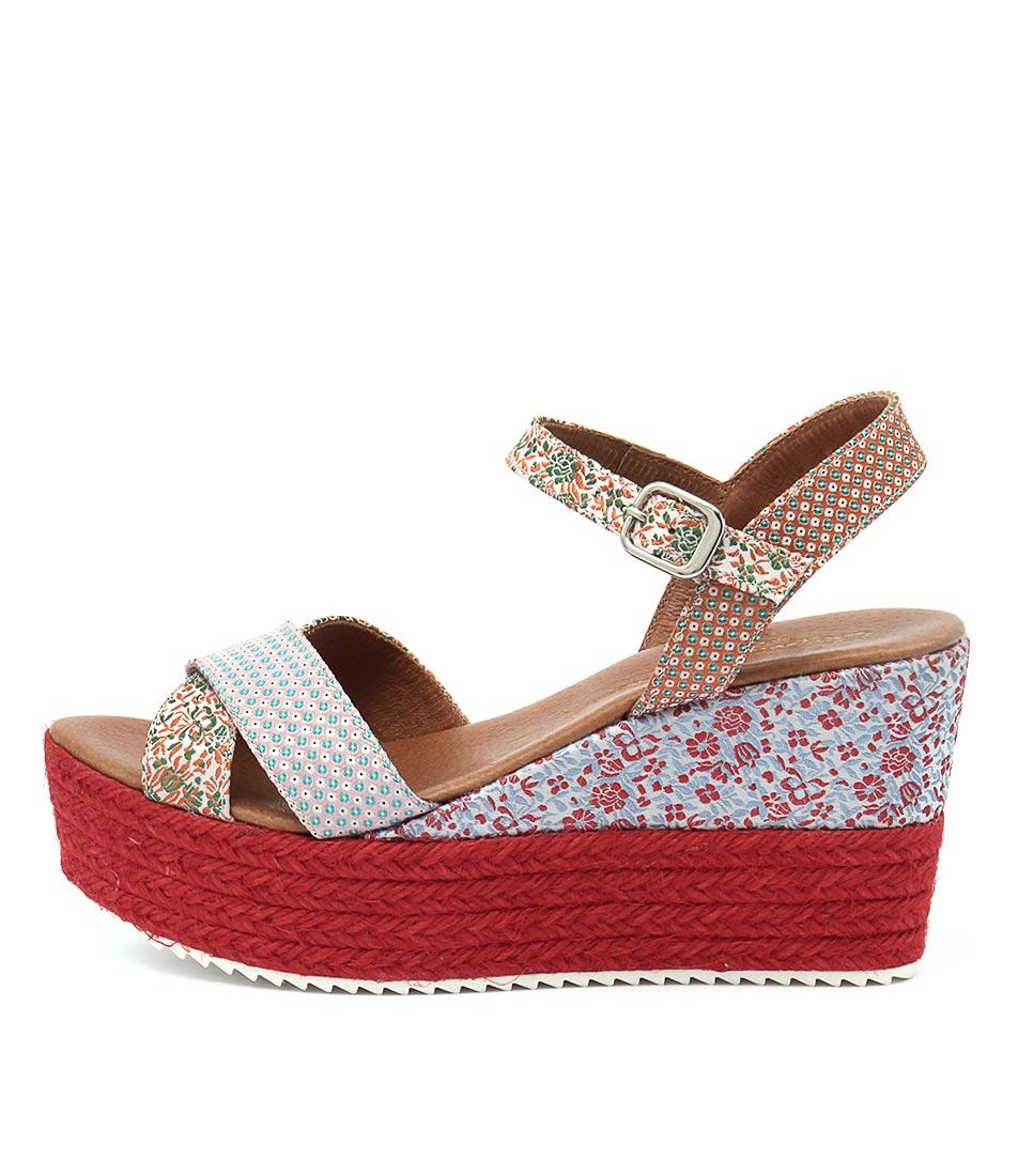 Sofia Cruz Idris Rojo (Red) Sandals