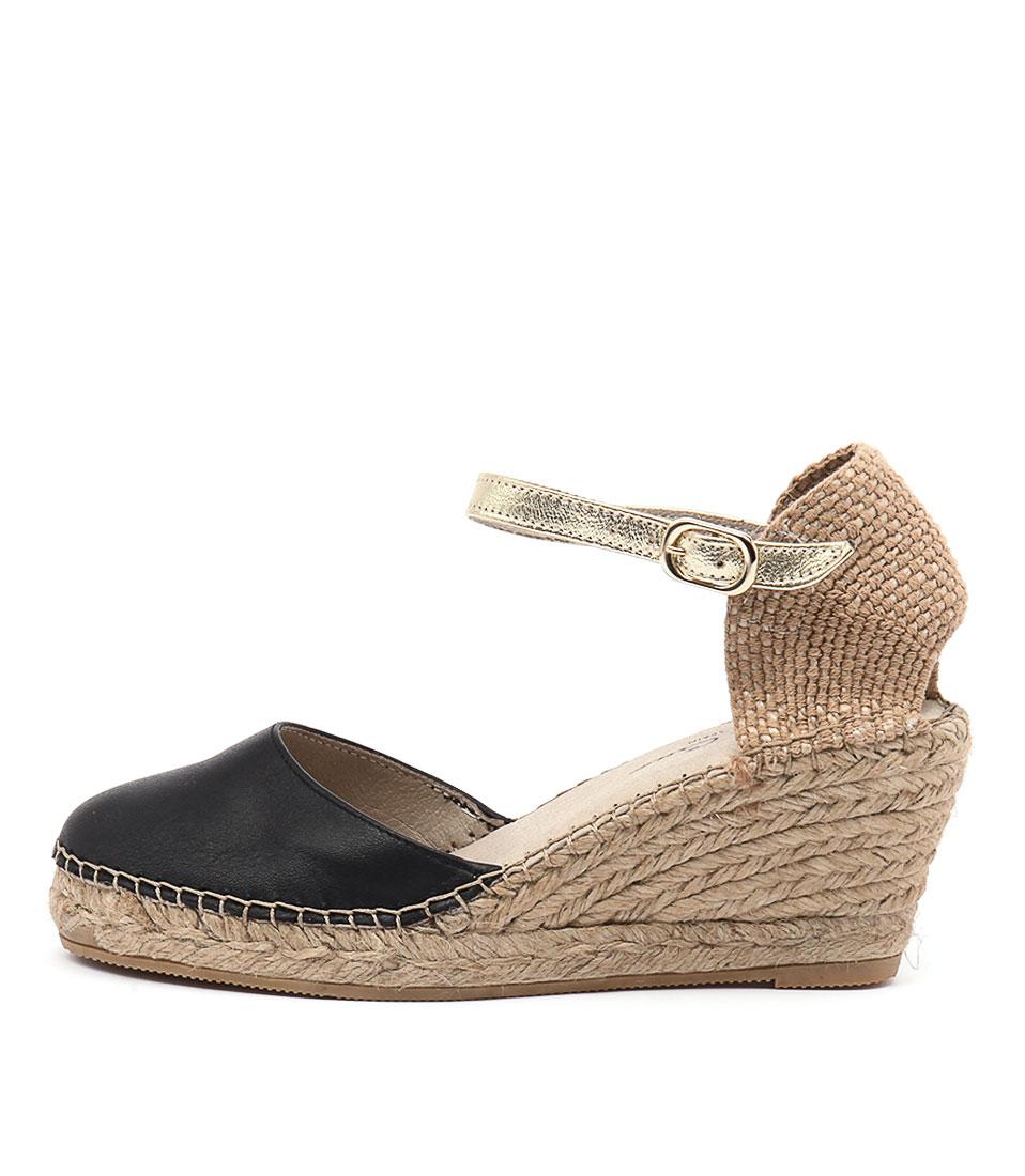 Sofia Cruz Alivia Sc Negro (Black) Casual Heeled Sandals