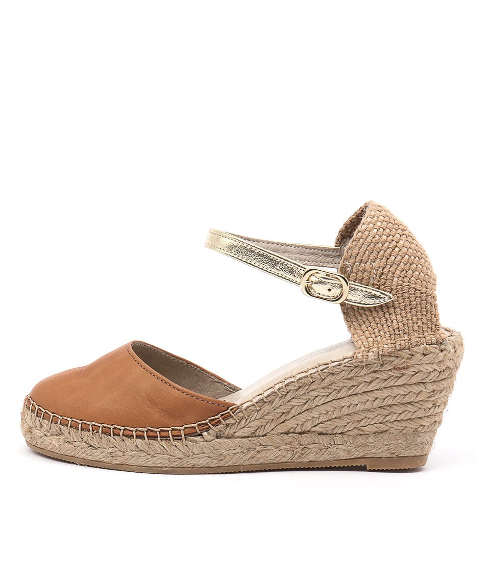 Sofia Cruz Alivia Sc Cuero (Tan) Heeled Sandals