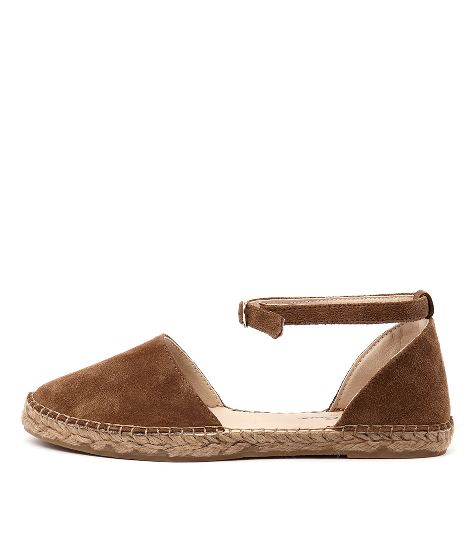 Sofia Cruz Duma 34 Sc Cuero (Tan) Flat Shoes