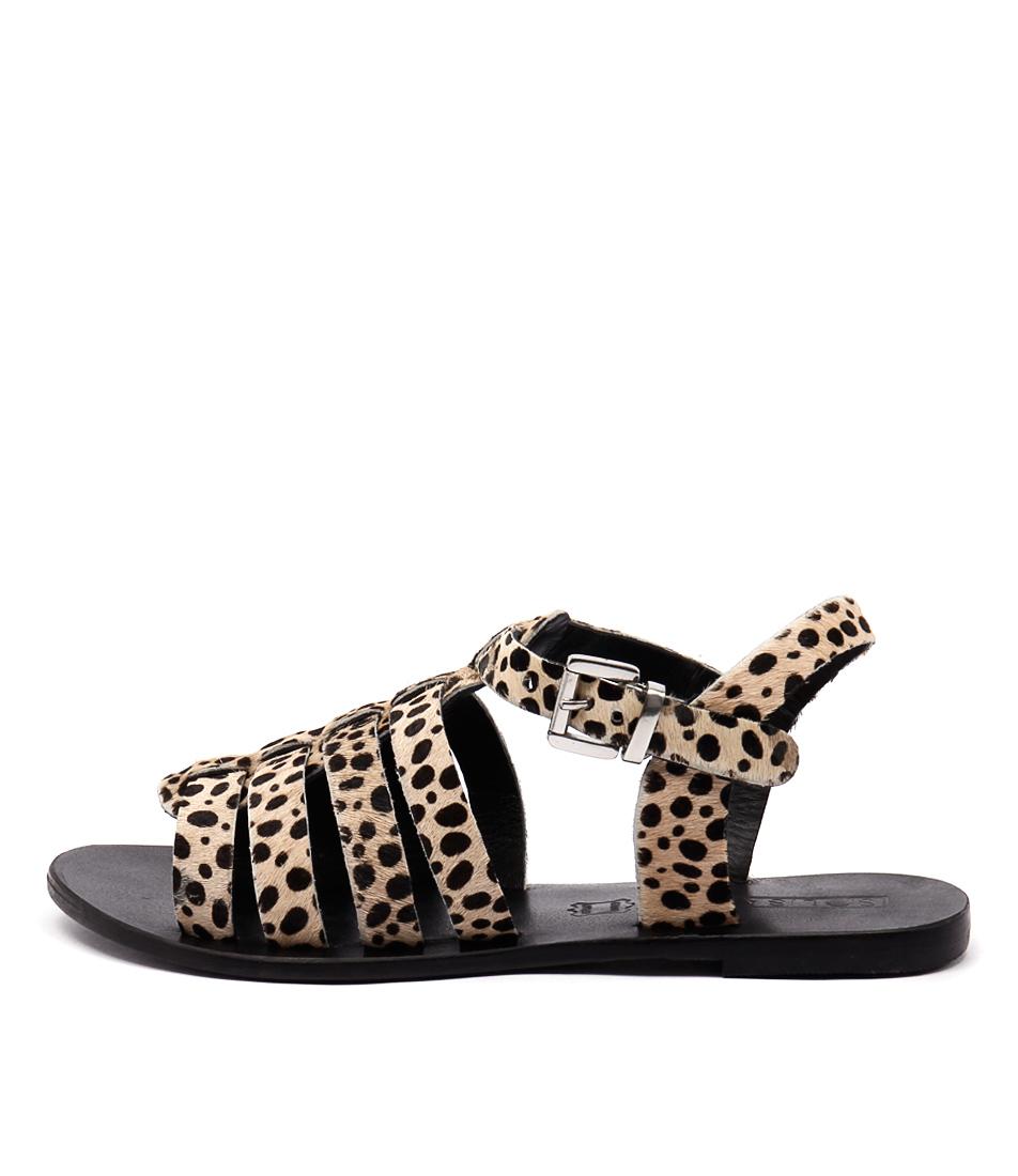 Sol Sana Sims Sandal Leopard Sandals