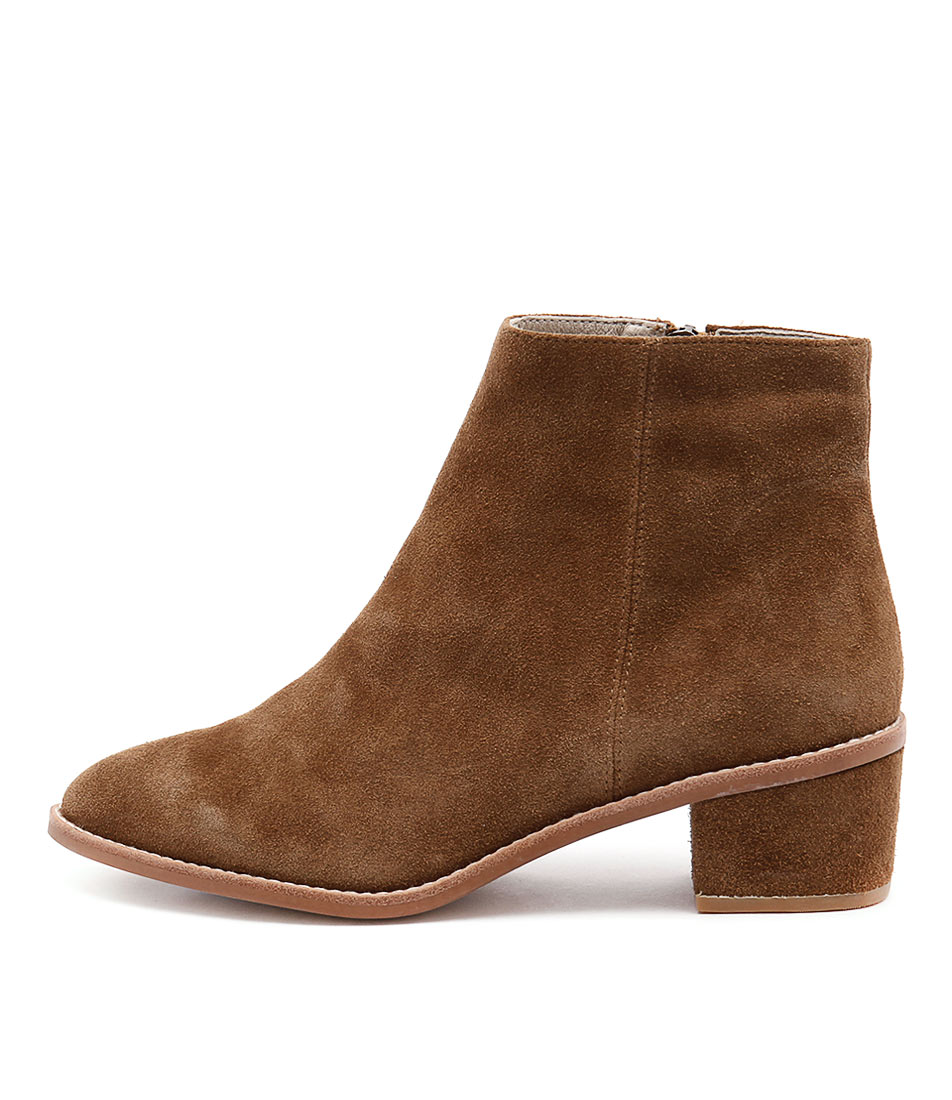 Sol Sana Miles Boot Cognac Casual Ankle Boots