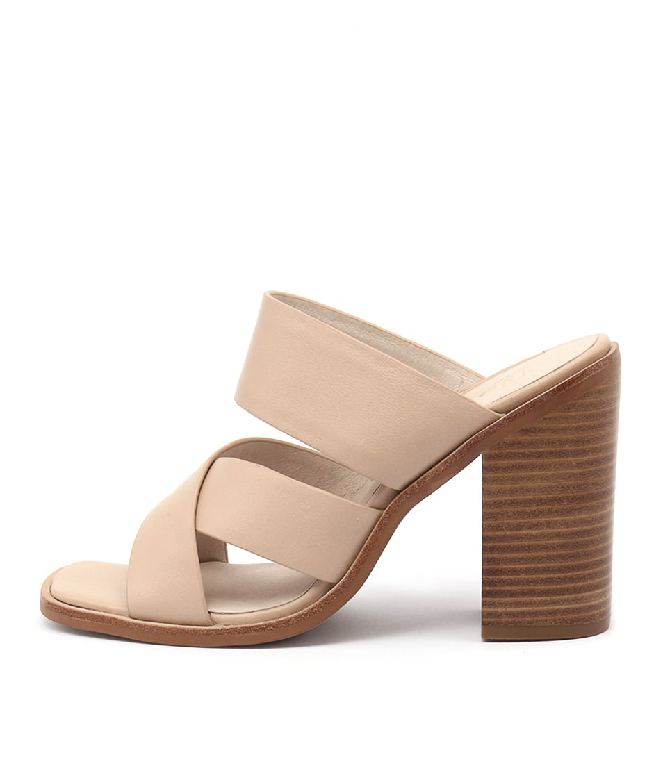 Sol Sana Blair Mule Natural Casual Heeled Sandals