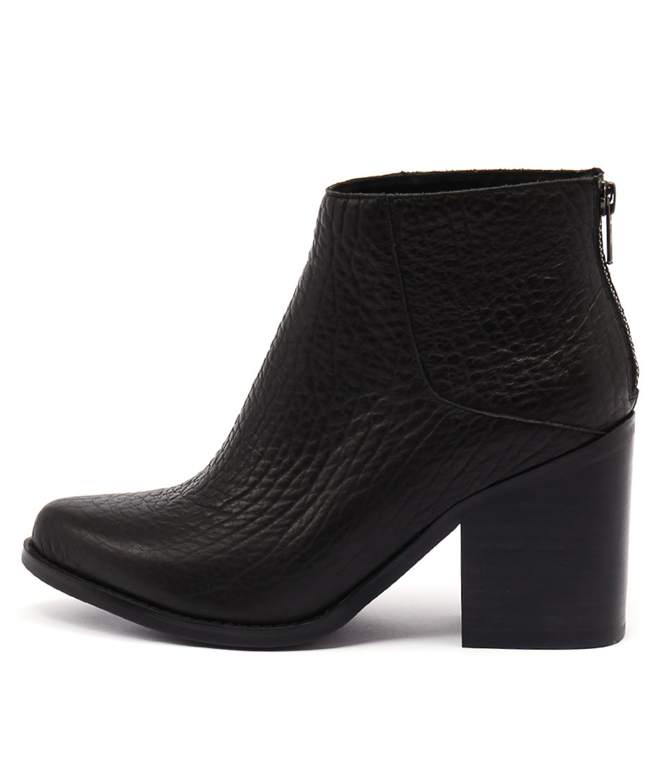 Sol Sana Leo Boot Black Elephant Casual Ankle Boots