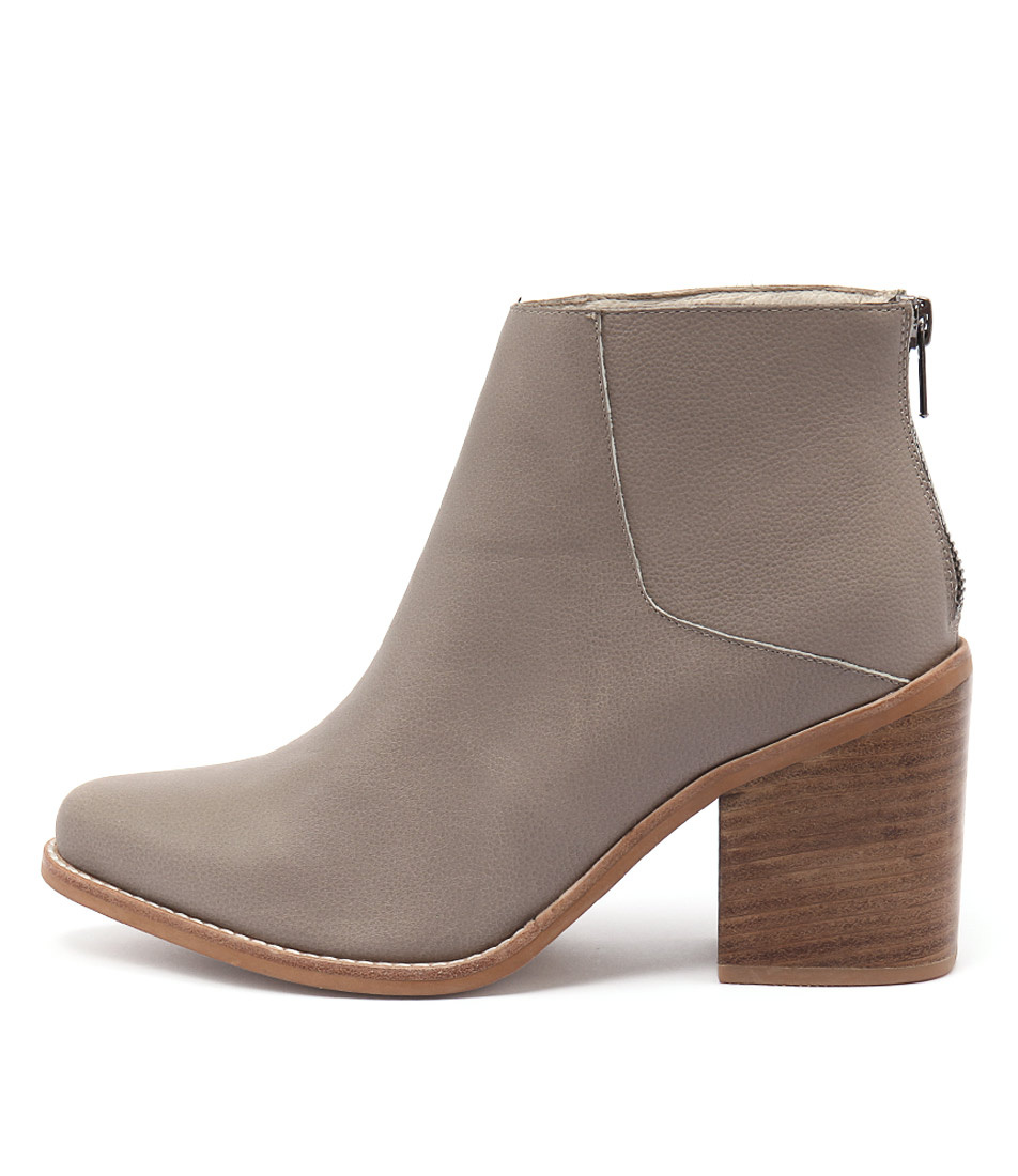 Sol Sana Leo Boot Taupe Ankle Boots