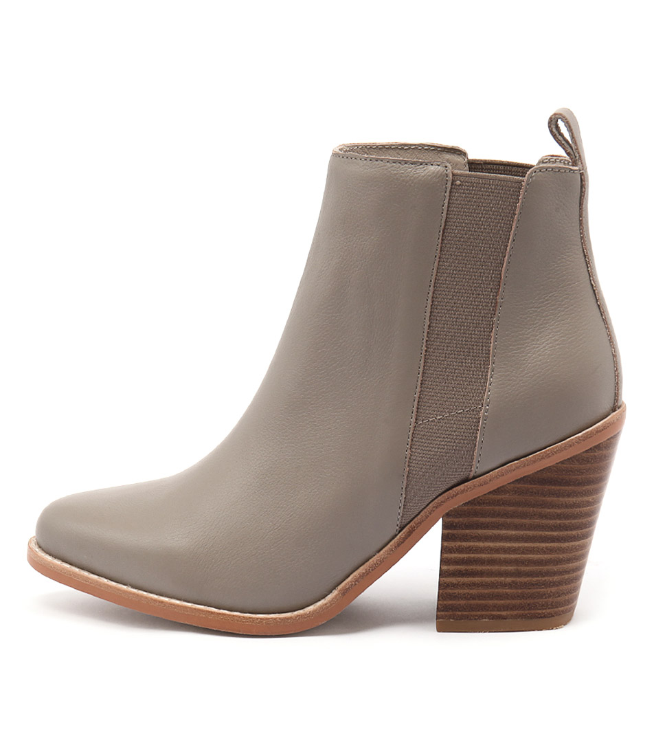 Sol Sana Toni Boot Taupe Ankle Boots