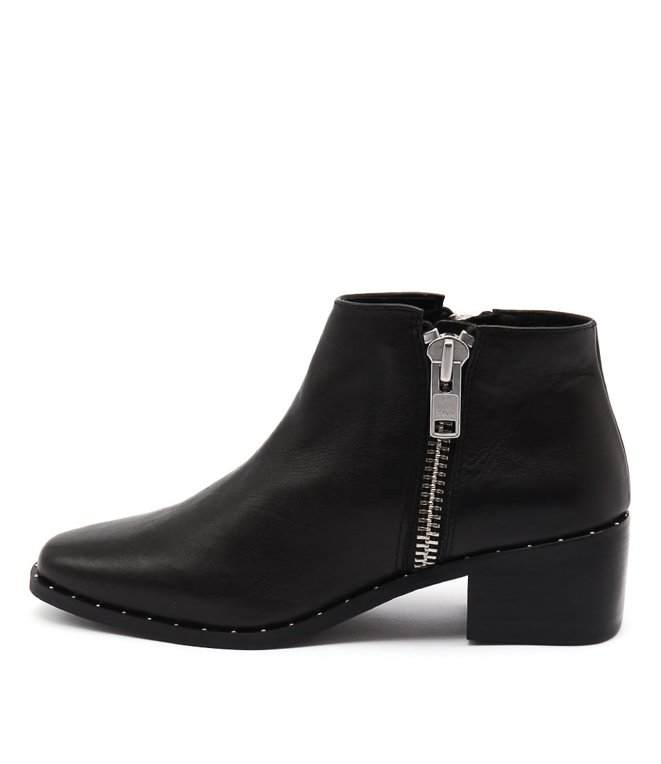 Sol Sana Louis Boot Black Studs Ankle Boots