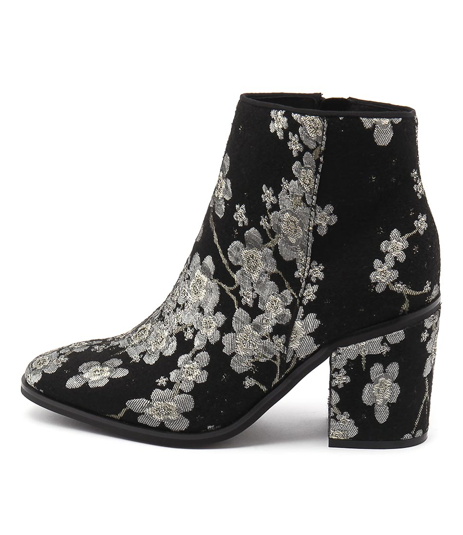 Sol Sana Fox Boot Ii Floral Ankle Boots