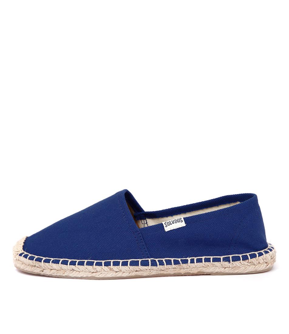 Soludos Original Dali Cobalt Flat Shoes
