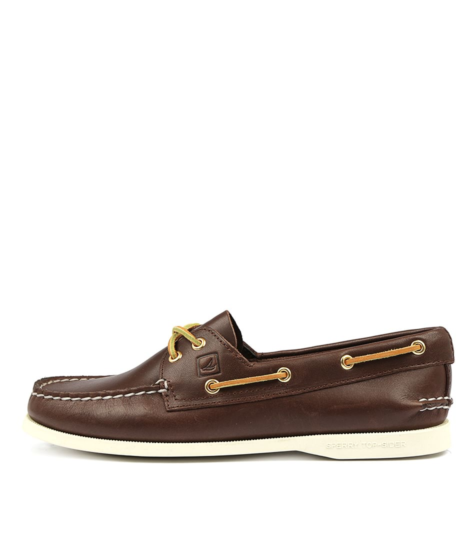 Sperry A/O 2 Eye Core Classic Brown High Heels