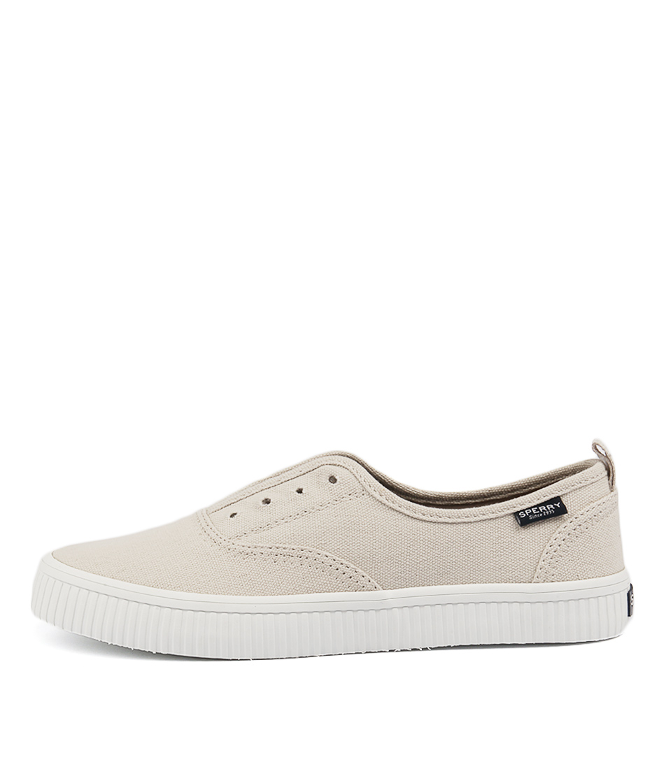 Sperry Crest Creeper Cvo Ivory Flat Shoes