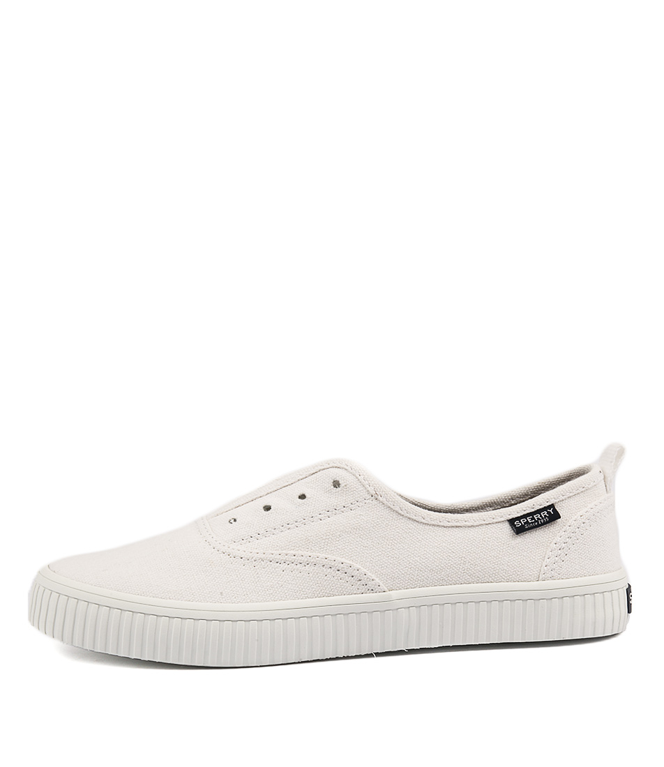 Sperry Crest Creeper Cvo White Flat Shoes