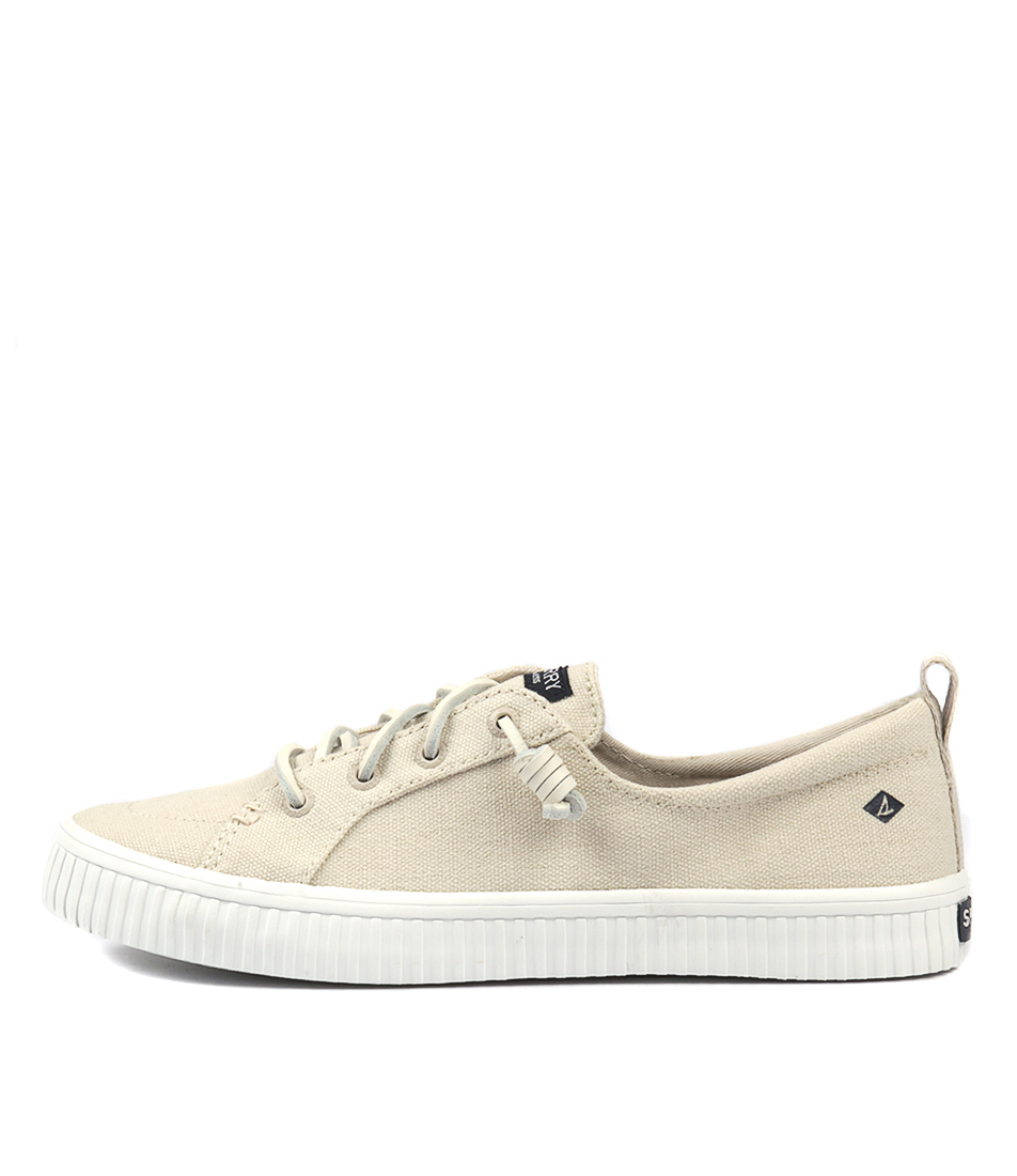 Sperry Crest Vibe Creeper Ivory Sneakers