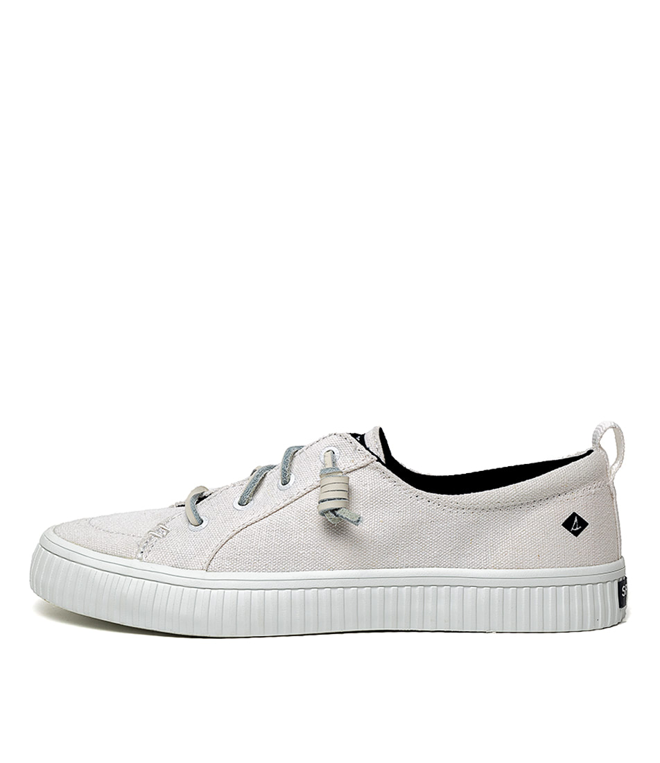 Buy Sperry Crest Vibe Creeper White Sneakers online with free shipping