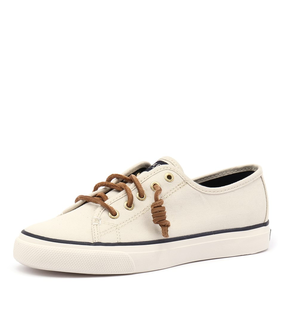 New-Sperry-Seacoastcanvas-Grey-Womens-Shoes-Casual-Shoes-Flat
