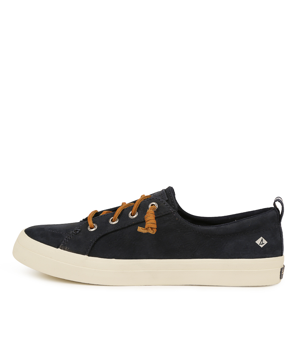 Buy Sperry Crest Vibe Washable D Navy Sneakers online with free shipping