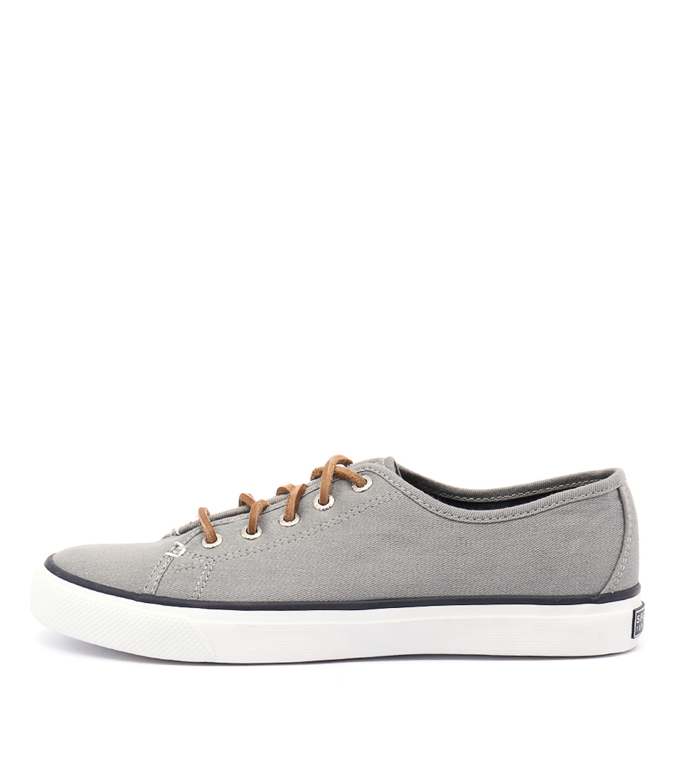 Sperry Seacoast Core Canvas Grey Sneakers