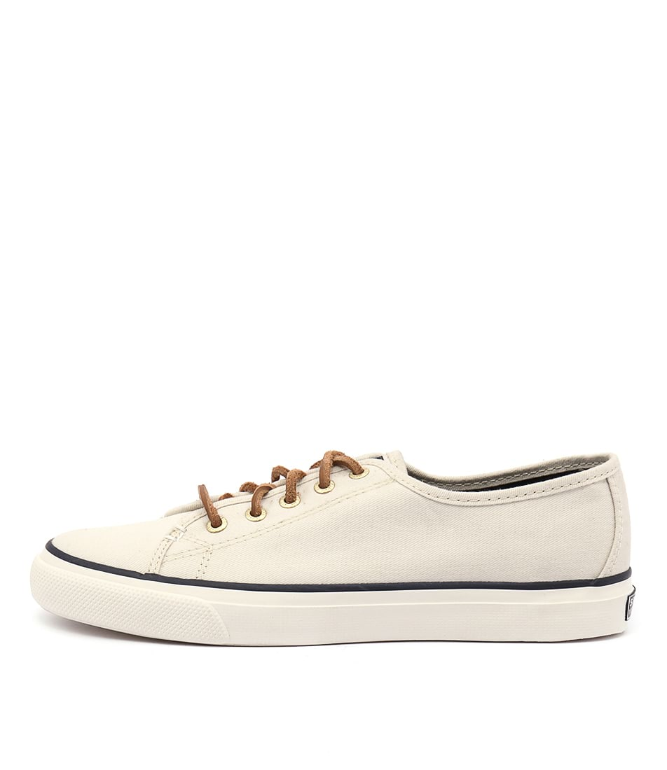 Sperry Seacoast Core Canvas Ivory Sneakers