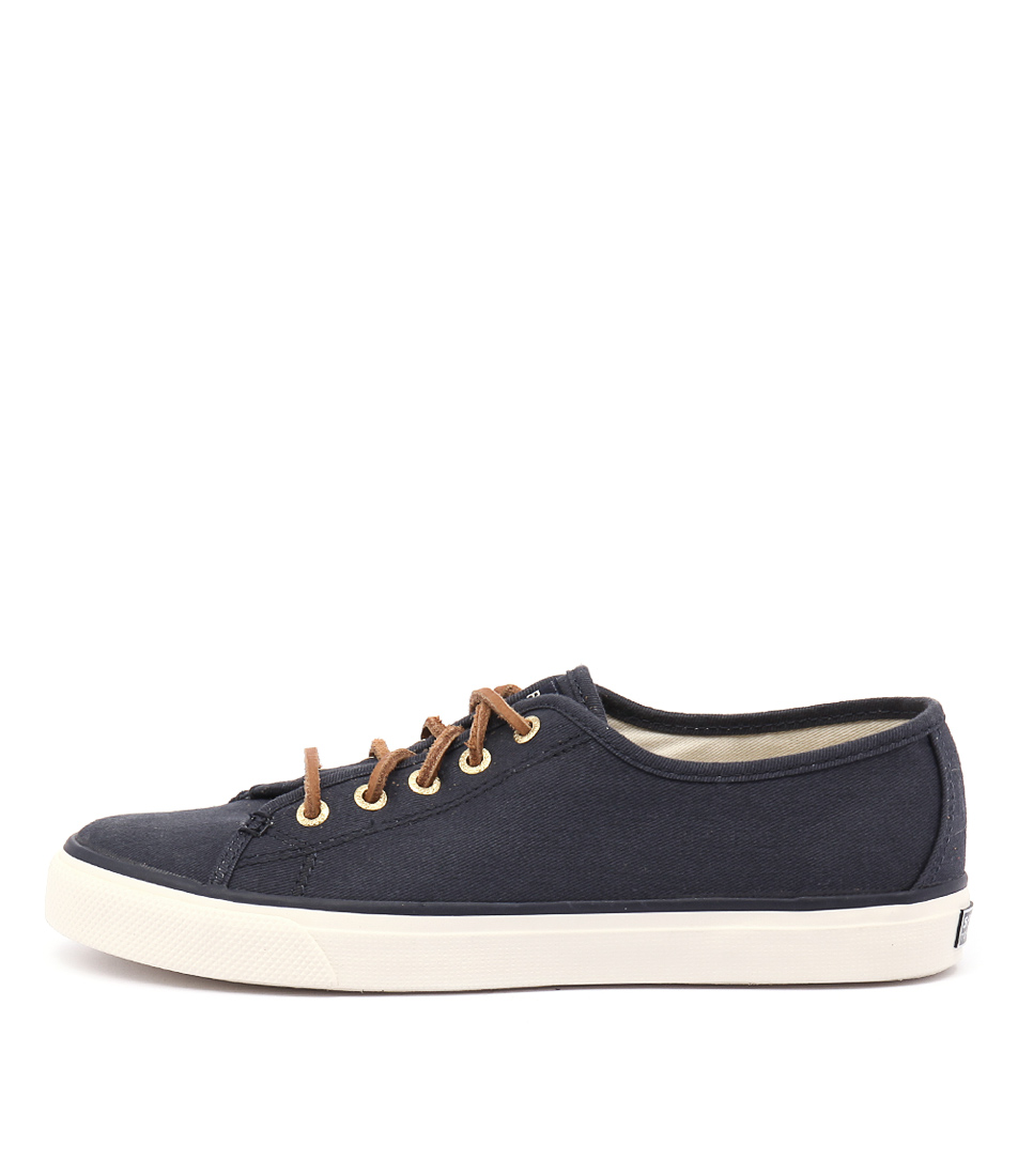 Sperry Seacoast Core Canvas Navy Sneakers