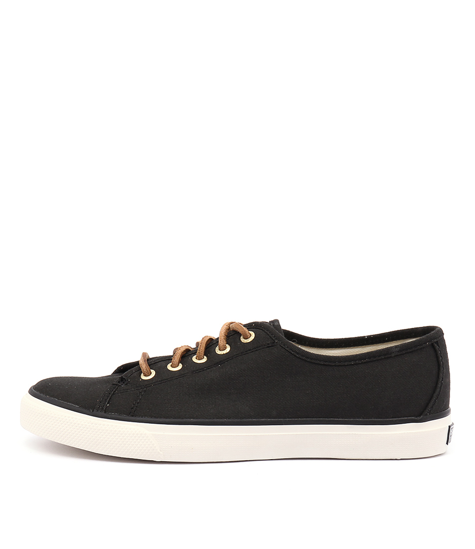 Sperry Seacoast Core Canvas Black Sneakers