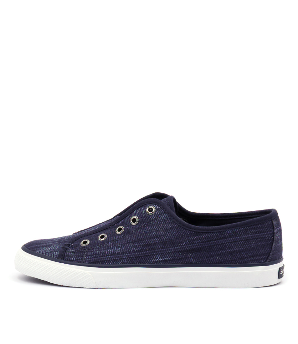 Sperry Seacoast Ripstop Canvas Dark Blue Sneakers