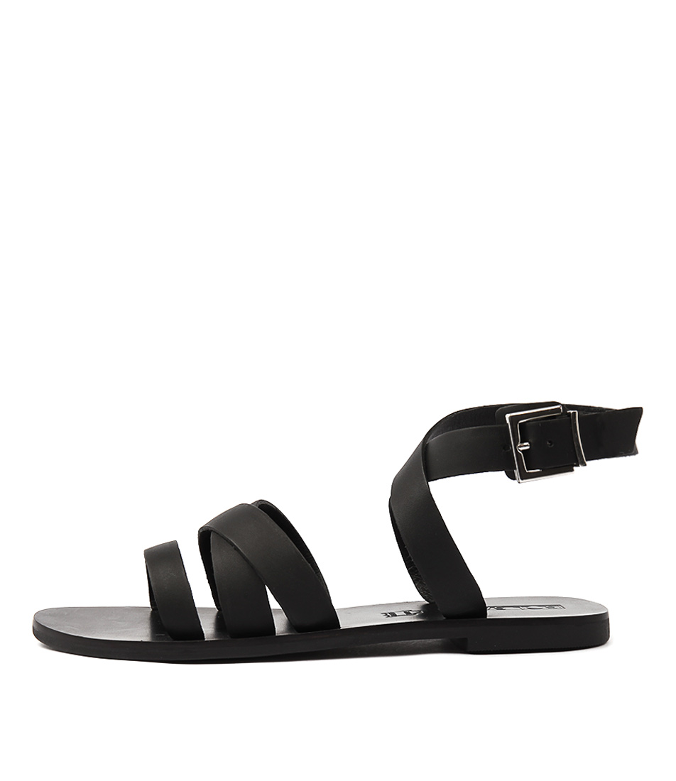 Sol Sana Clash Sandal Black Flat Sandals