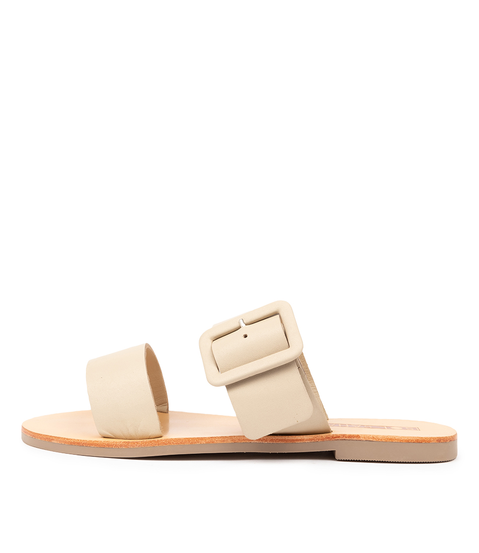 Buy Sol Sana April Ii Slide Birch Flat Sandals online with free shipping