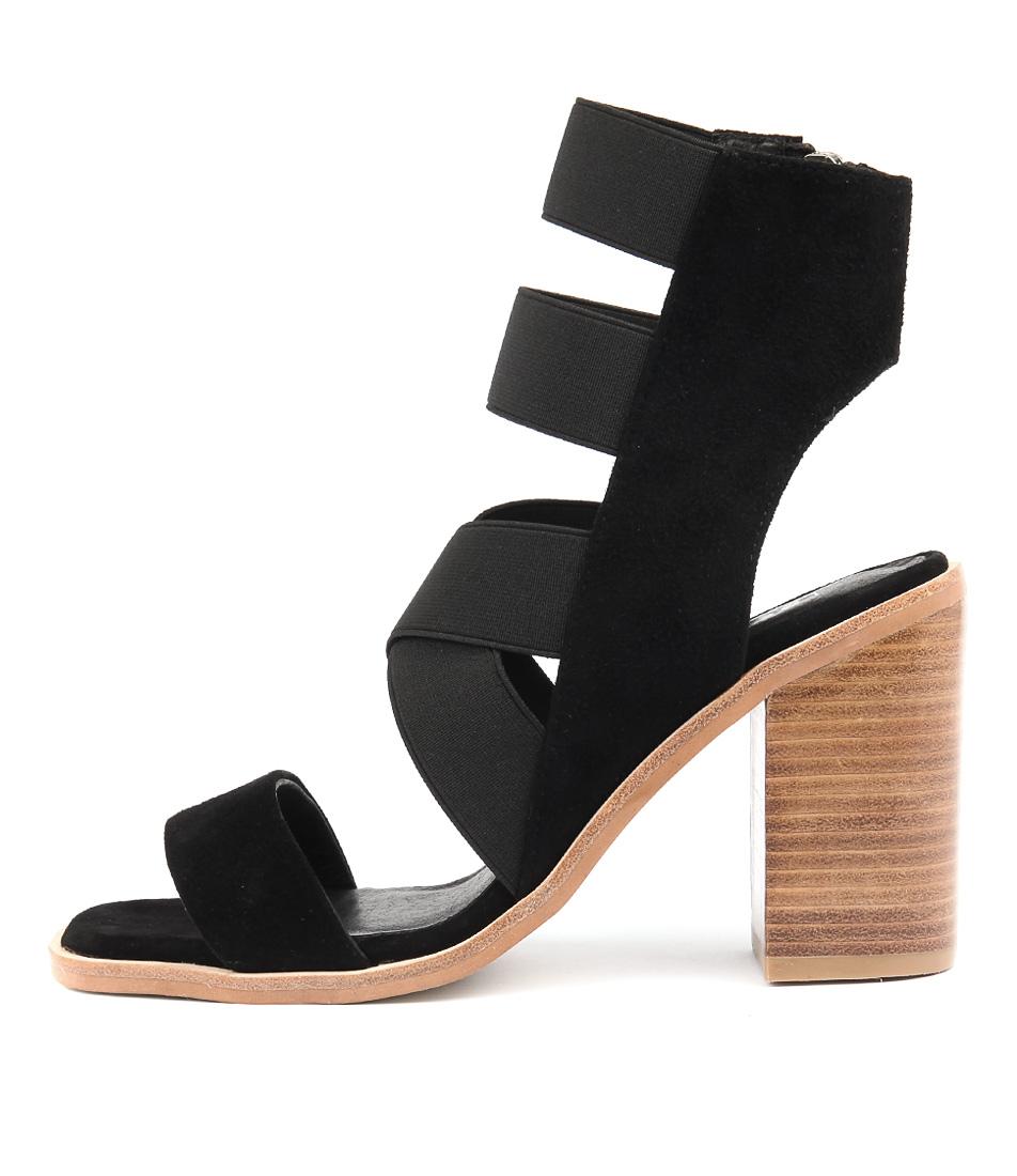 Photo of Sol Sana Maggie Heel Black Heeled Sandals womens shoes