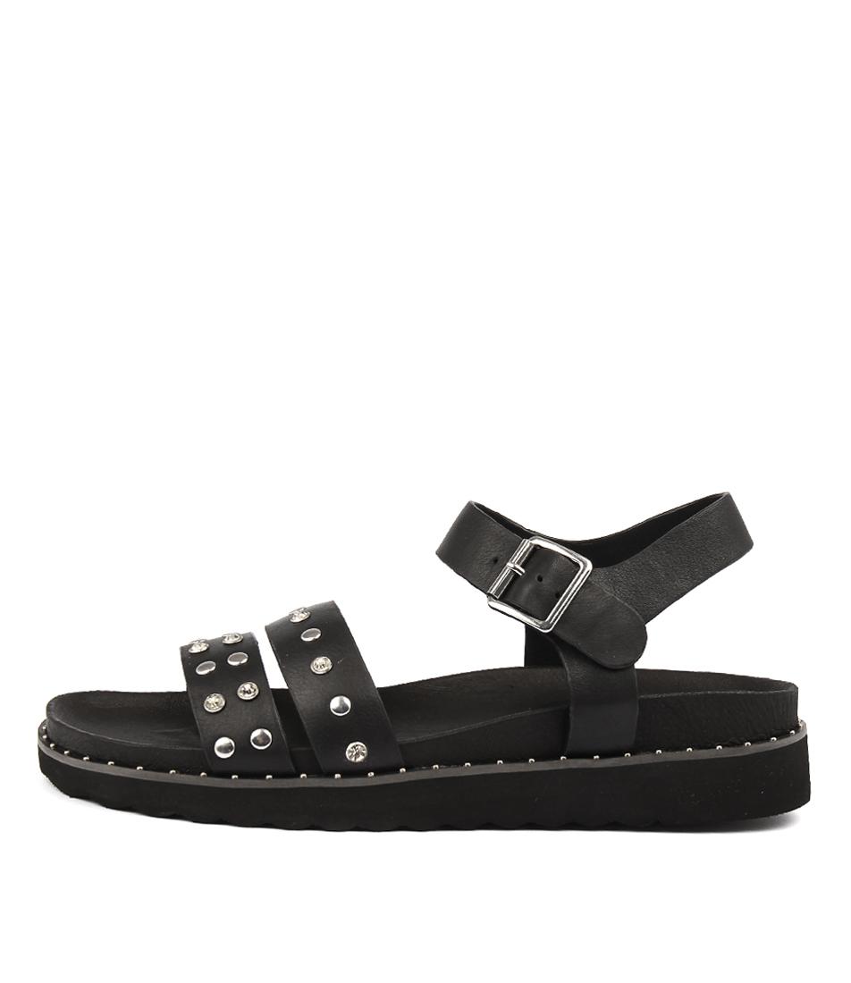 Sol Sana Galaxy Sandal Black Studs Sandals