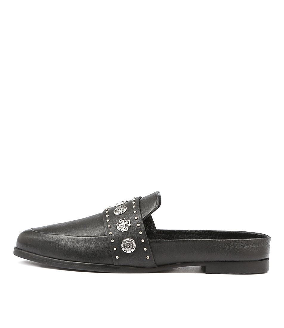 Buy Sol Sana Tuesday Slide Black Flats online with free shipping
