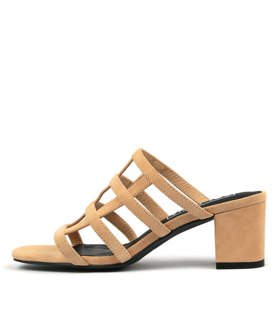 Buy Sol Sana Spencer Mule Lt Tan High Heels online with free shipping