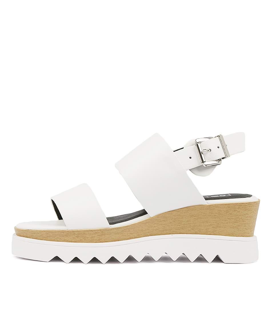 Buy Sol Sana Traci Wedge White Heeled Sandals online with free shipping
