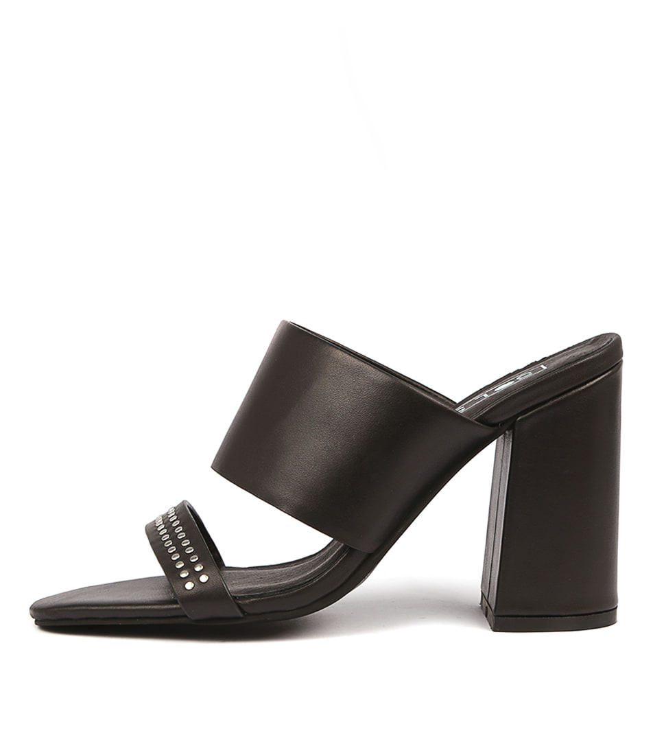 Buy Sol Sana Darcy Mule Black Heeled Sandals online with free shipping